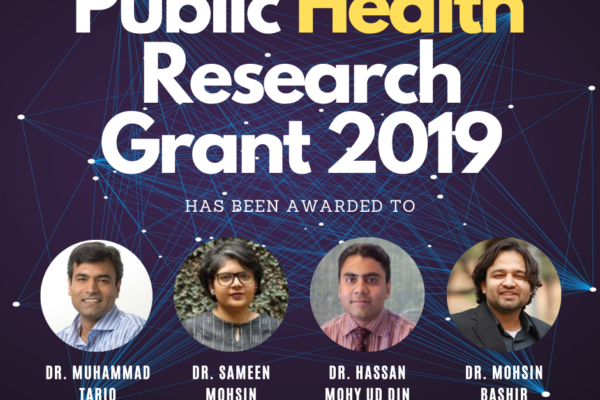 SHF Public Health Research Grant 2019-20: Results
